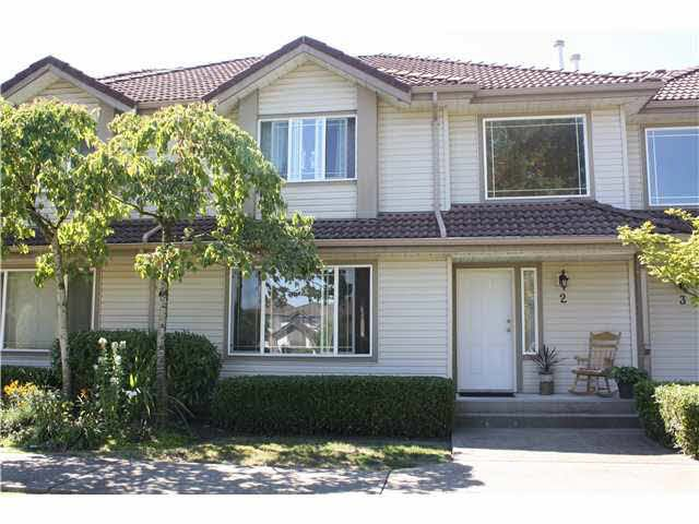 Main Photo: SKEENA STREET in PORT COQ: Riverwood Townhouse for sale (Port Coquitlam)