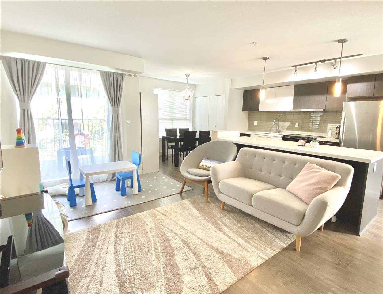 """Main Photo: 405 618 LANGSIDE Avenue in Coquitlam: Coquitlam West Townhouse for sale in """"BLOOM"""" : MLS®# R2490970"""
