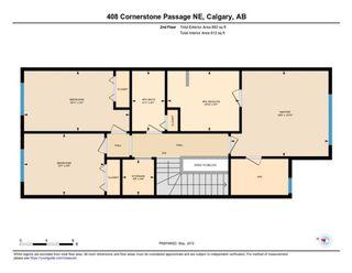 Photo 36: 408 Cornerstone Passage NE in Calgary: Cornerstone Detached for sale : MLS®# A1122046