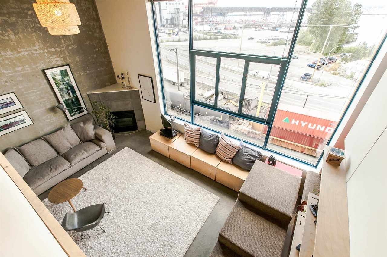 """Main Photo: 420 2001 WALL Street in Vancouver: Hastings Condo for sale in """"CANNERY ROW"""" (Vancouver East)  : MLS®# R2081753"""