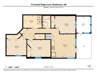 Photo 46: 14 Crystal Ridge Cove: Strathmore Semi Detached for sale : MLS®# A1142513