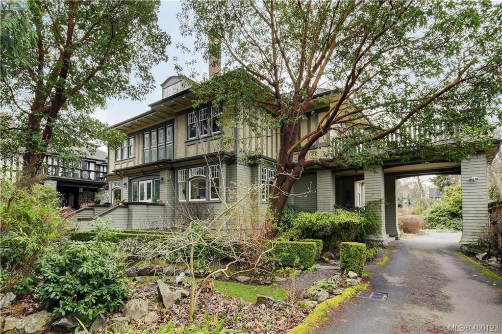 Main Photo: 5 914 St. Charles St in VICTORIA: Vi Rockland Row/Townhouse for sale (Victoria)  : MLS®# 807088
