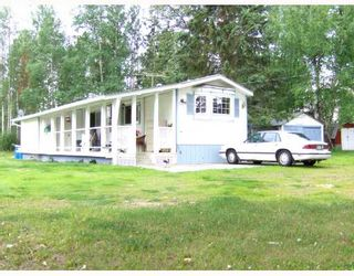 """Photo 1: 6735 SALMON VALLEY Road in Salmon_Valley: N76SV Manufactured Home for sale in """"SALMON VALLEY"""" (PG Rural North (Zone 76))  : MLS®# N174141"""