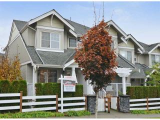 "Photo 1: 46 6568 193B Street in Surrey: Clayton Townhouse for sale in ""BELMONT AT SOUTHLANDS"" (Cloverdale)  : MLS®# F1324450"