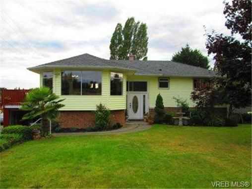 Main Photo: 4238 Springridge Cres in VICTORIA: SW Northridge House for sale (Saanich West)  : MLS®# 701150