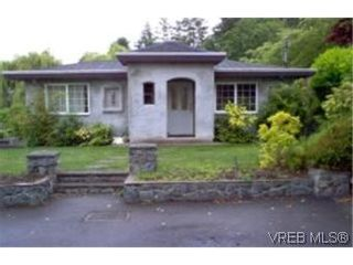 Photo 1:  in : SE Cadboro Bay House for sale (Saanich East)  : MLS®# 399440