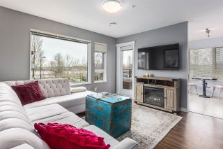 """Photo 1: 317 3133 RIVERWALK Avenue in Vancouver: South Marine Condo for sale in """"NEW WATER"""" (Vancouver East)  : MLS®# R2357163"""