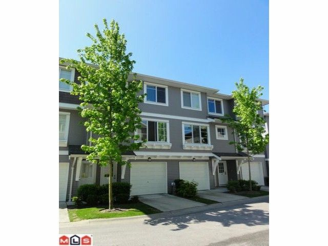 "Main Photo: 61 15155 62A Avenue in Surrey: Sullivan Station Townhouse for sale in ""Oaklands"" : MLS®# F1213664"