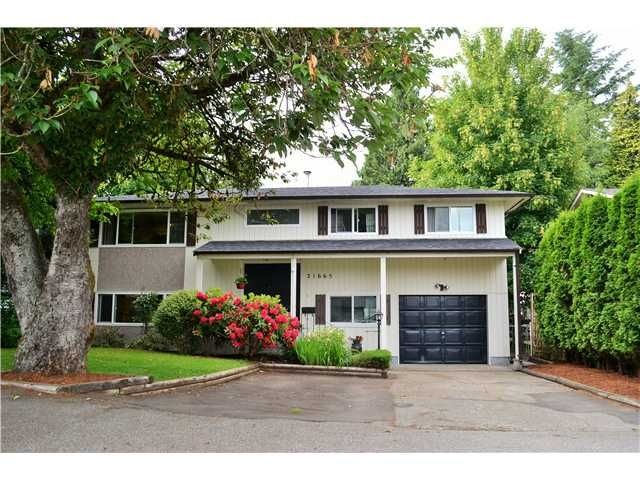 Main Photo: 21665 123RD Avenue in Maple Ridge: West Central House for sale : MLS®# V1125081