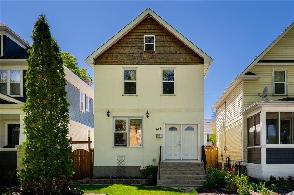 Main Photo: 678 Spruce Street in Winnipeg: West End Residential for sale (5C)  : MLS®# 202113196