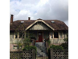 Main Photo: 1031 E 21ST AV in Vancouver: Fraser VE House for sale (Vancouver East)  : MLS®# V1114689