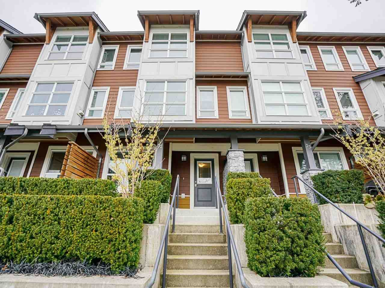 "Main Photo: 32 3431 GALLOWAY Avenue in Coquitlam: Burke Mountain Townhouse for sale in ""Northbrook"" : MLS®# R2543849"