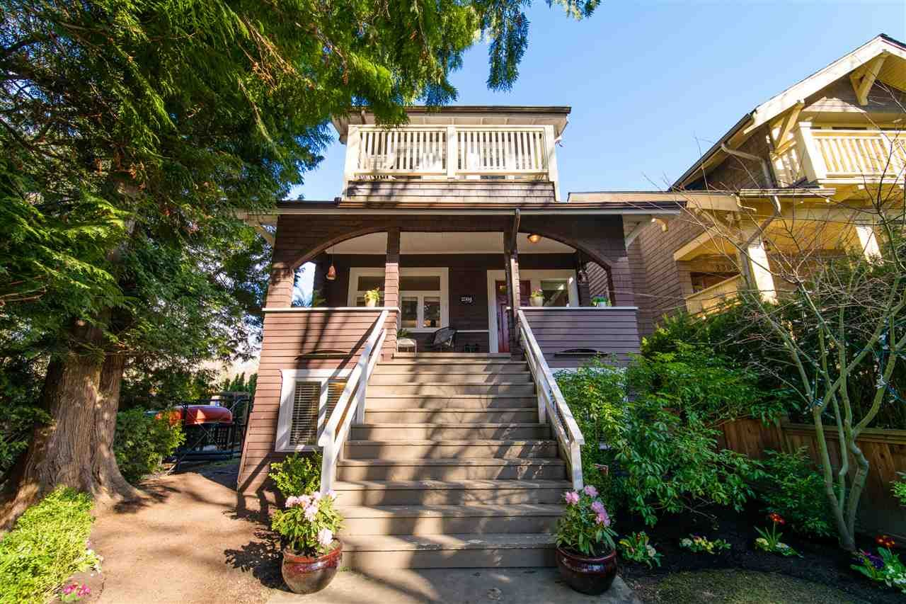 Main Photo: 2304 DUNBAR Street in Vancouver: Kitsilano House for sale (Vancouver West)  : MLS®# R2549488