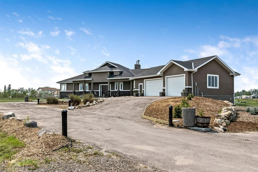 Main Photo: 275079 Township Road 240 in Rural Rocky View County: Rural Rocky View MD Detached for sale : MLS®# A1130907