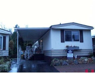 """Photo 1: 3665 244 Street in Langley: Otter District Manufactured Home for sale in """"Langley Grove Estates"""" : MLS®# F2624909"""