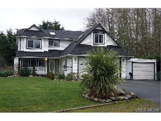 Photo 1: 1569 Dufour Rd in SOOKE: Sk Whiffin Spit House for sale (Sooke)  : MLS®# 301902