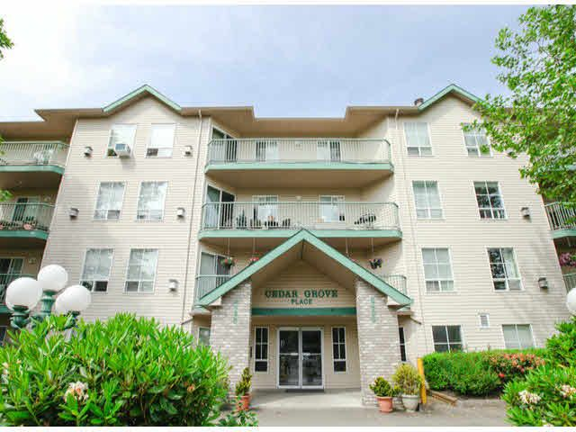 """Main Photo: 303 2435 CENTER Street in Abbotsford: Abbotsford West Condo for sale in """"Cedar Grove Place"""" : MLS®# F1412491"""