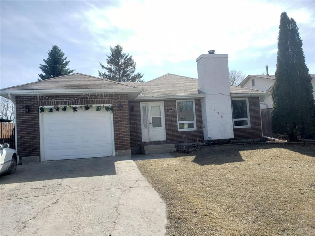 Main Photo: 175 Leahcrest Crescent in Winnipeg: Mandalay West Residential for sale (4H)  : MLS®# 202107550