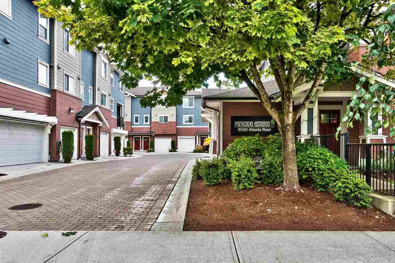 Main Photo: 5 9580 ALBERTA ROAD in Richmond: McLennan North Townhouse for sale ()  : MLS®# R2092608