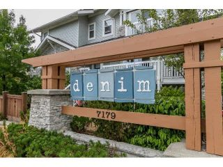 """Photo 2: 111 7179 201ST Street in Langley: Willoughby Heights Townhouse for sale in """"DENIM"""" : MLS®# F1447236"""