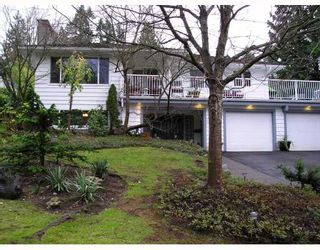 Photo 1: 936 BAKER Drive in Coquitlam: Chineside House for sale : MLS®# V798614