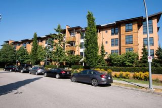 """Main Photo: 102 220 SALTER Street in New Westminster: Queensborough Condo for sale in """"Glasshouse Loft"""" : MLS®# R2605458"""