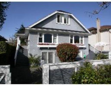 Main Photo: 2159 W. 21st AVENUE: House for sale (Arbutus)  : MLS®# V528973