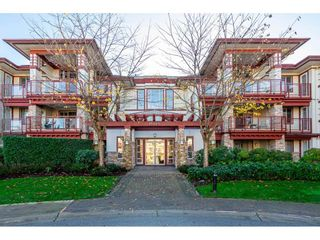 "Photo 1: 302 16421 64 Avenue in Surrey: Cloverdale BC Condo for sale in ""ST. ANDREW'S"" (Cloverdale)  : MLS®# R2323880"