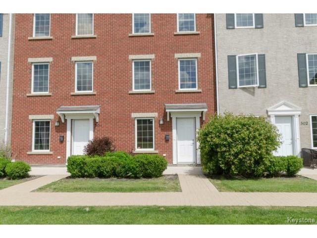 Main Photo: 1000 Aldgate Road in WINNIPEG: St Vital Condominium for sale (South East Winnipeg)  : MLS®# 1509204
