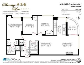 """Photo 40: 613 2655 CRANBERRY Drive in Vancouver: Kitsilano Condo for sale in """"NEW YORKER"""" (Vancouver West)  : MLS®# R2581568"""