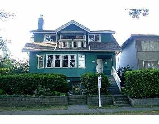 Main Photo:  in Vancouver: Home for sale : MLS®# V558474