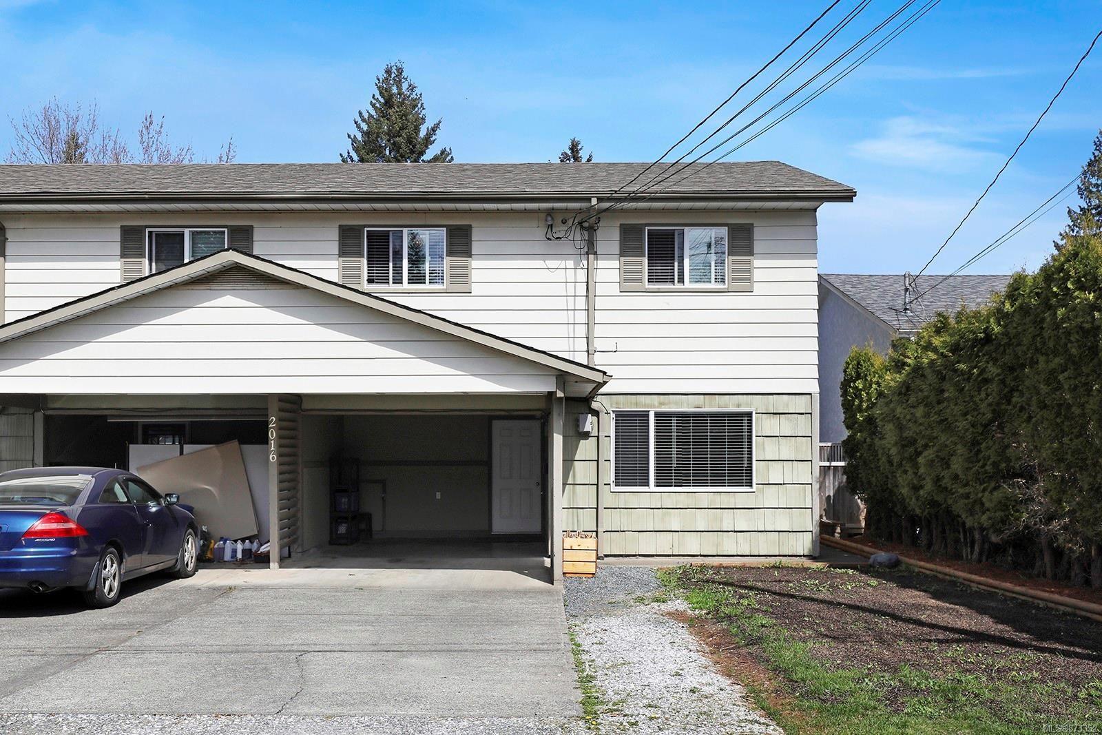 Main Photo: B 2016 Choquette Rd in : CV Courtenay City Half Duplex for sale (Comox Valley)  : MLS®# 873352