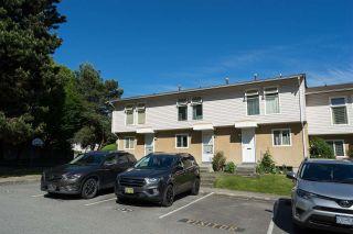 "Photo 1: 6726 ARLINGTON Street in Vancouver: Killarney VE Townhouse for sale in ""CHAMPLAIN VILLA"" (Vancouver East)  : MLS®# R2588343"
