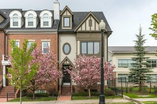 Main Photo: 4111 GARRISON Boulevard SW in Calgary: Garrison Woods Row/Townhouse for sale : MLS®# C4300161