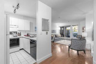 "Photo 3: 108 2020 W 8TH Avenue in Vancouver: Kitsilano Condo for sale in ""AUGUSTINE GARDENS"" (Vancouver West)  : MLS®# R2323601"