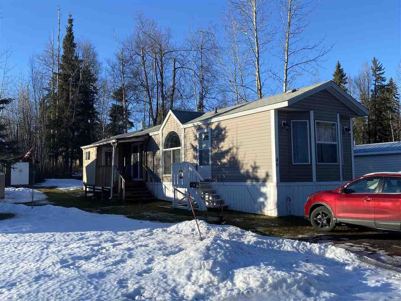 Main Photo: 40 6100 O'GRADY Road in Prince George: Upper College Manufactured Home for sale (PG City South (Zone 74))  : MLS®# R2527989