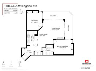 """Photo 7: 1104 6455 WILLINGDON Avenue in Burnaby: Metrotown Condo for sale in """"PARKSIDE MANOR"""" (Burnaby South)  : MLS®# R2589629"""