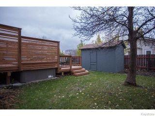 Photo 18: 8 Chokecherry Cove in WINNIPEG: St Vital Residential for sale (South East Winnipeg)  : MLS®# 1527645
