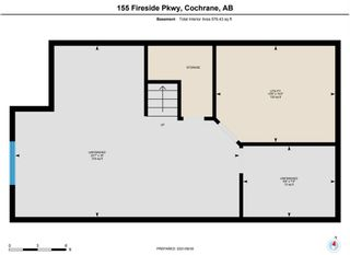 Photo 34: 155 Fireside Parkway: Cochrane Row/Townhouse for sale : MLS®# A1150208