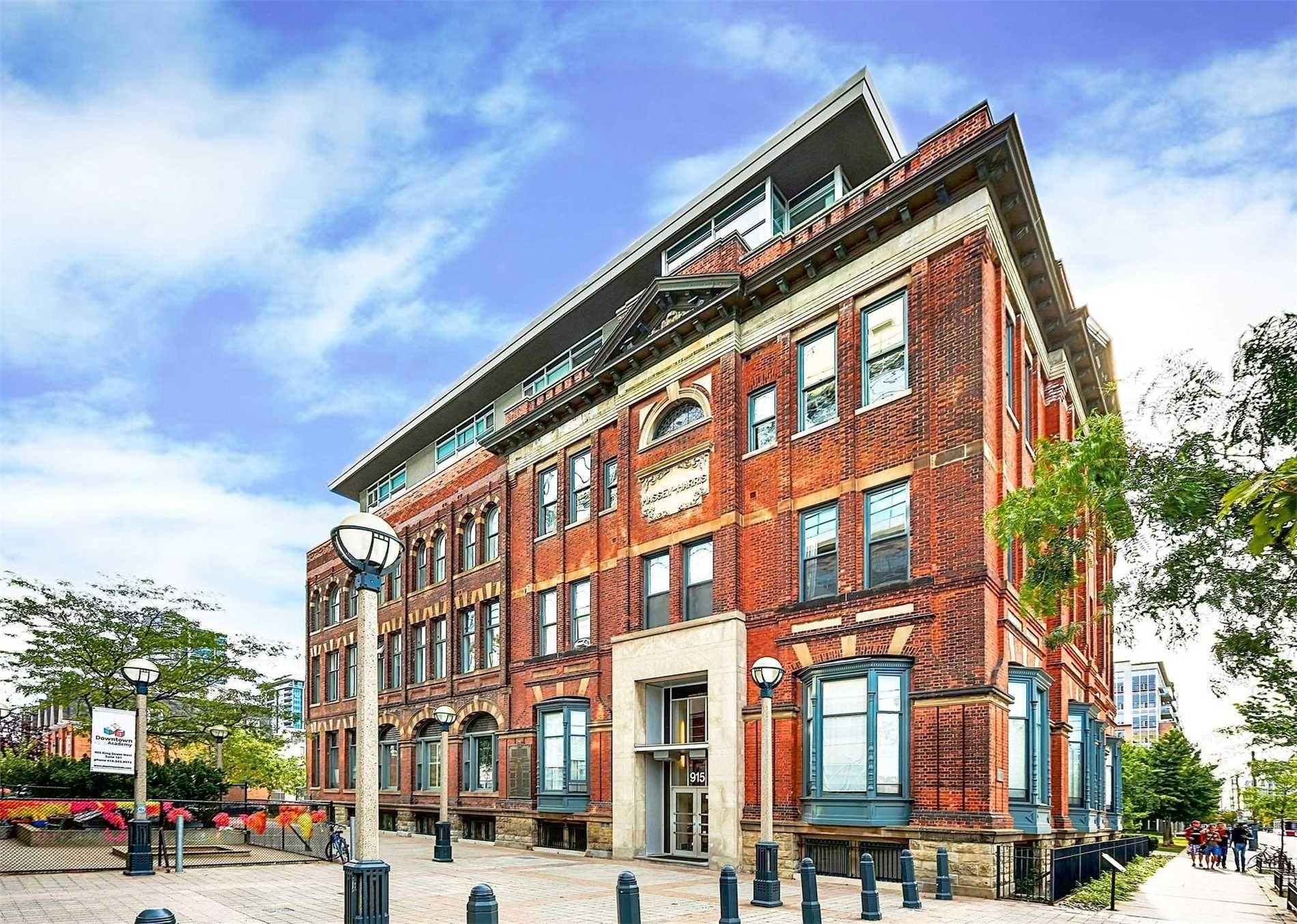 Main Photo: 309 915 W King Street in Toronto: Niagara Condo for sale (Toronto C01)  : MLS®# C5259276