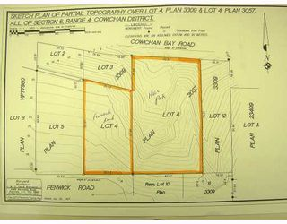 Photo 3: # LT4 FENWICK RD in No_City_Value: Out of Town Land for sale : MLS®# V701019