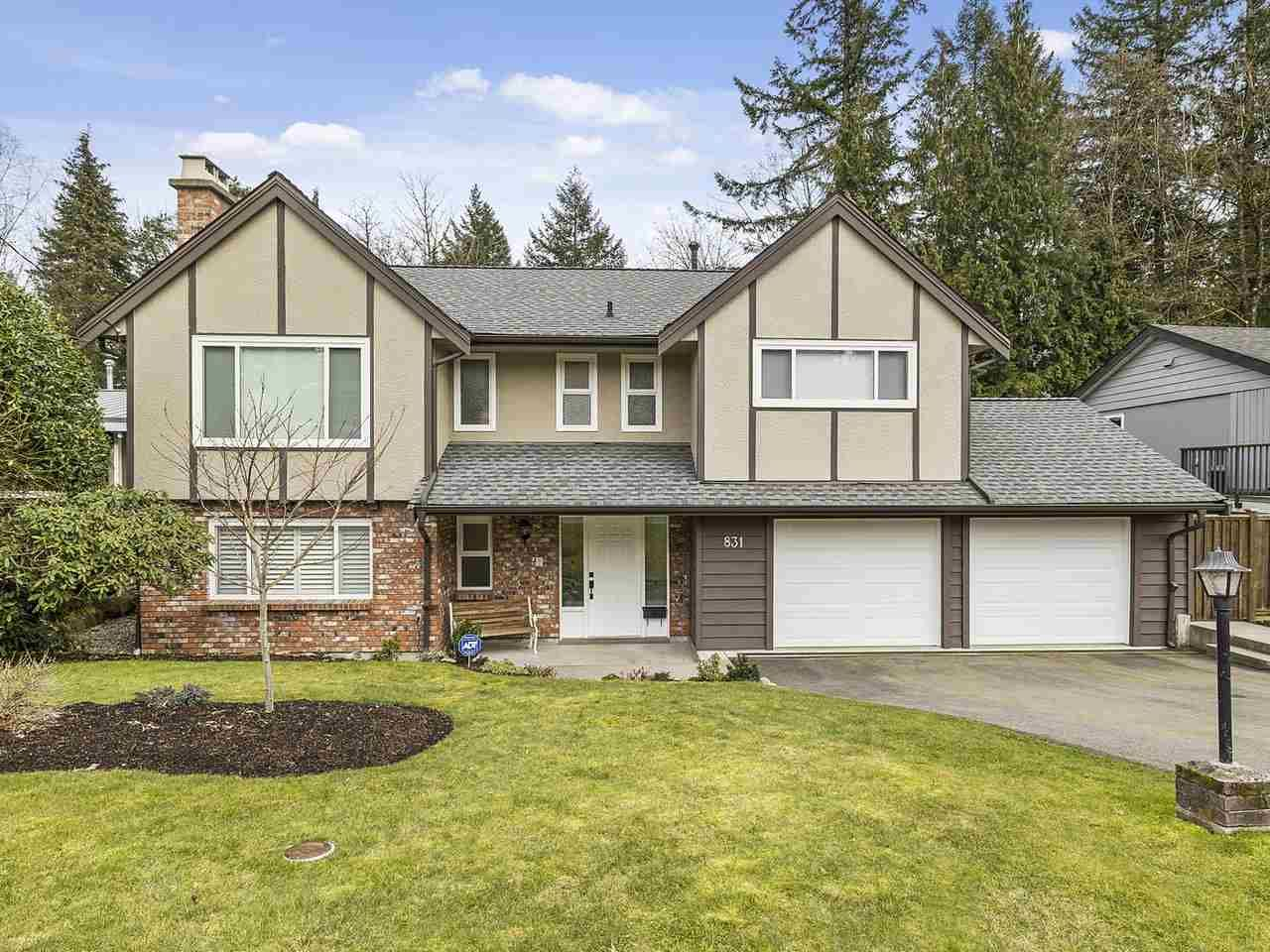 """Main Photo: 831 BAKER Drive in Coquitlam: Chineside House for sale in """"CHINESIDE"""" : MLS®# R2543641"""