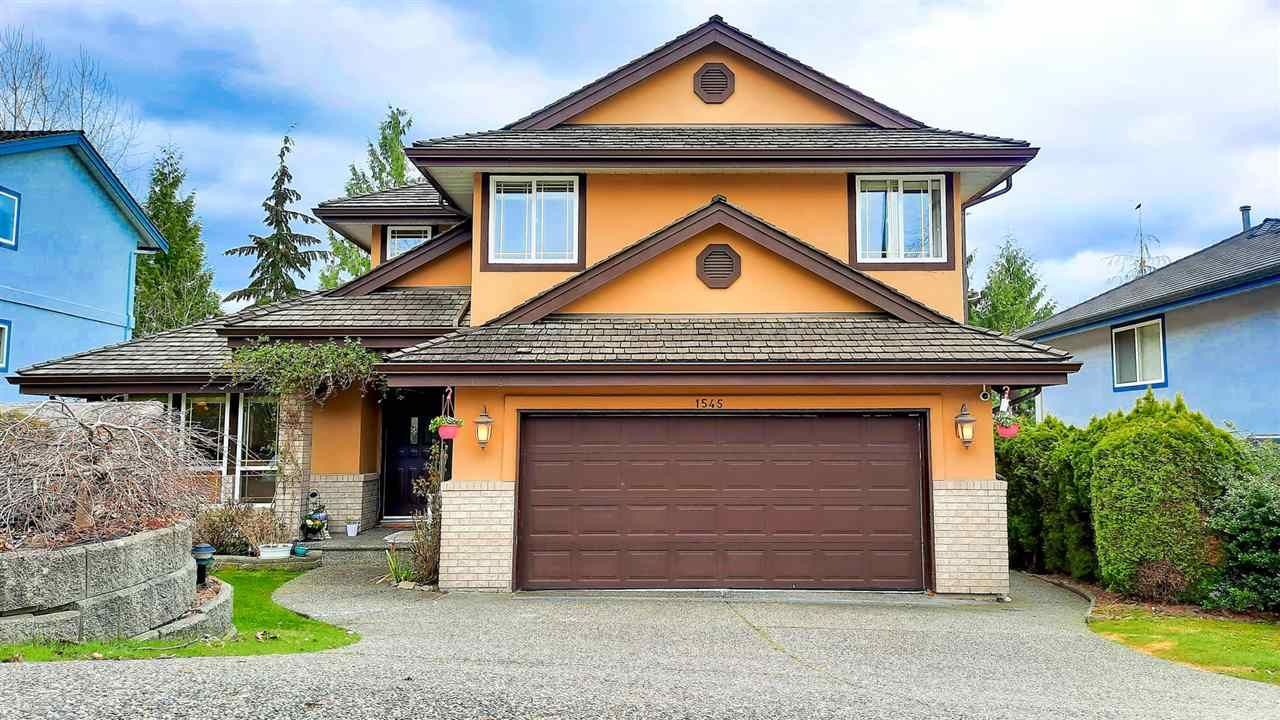 Main Photo: 1545 EAGLE MOUNTAIN Drive in Coquitlam: Westwood Plateau House for sale : MLS®# R2558805