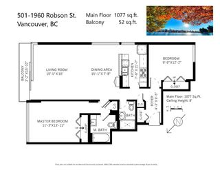 """Photo 32: 501 1960 ROBSON Street in Vancouver: West End VW Condo for sale in """"Lagoon Terrace"""" (Vancouver West)  : MLS®# R2528617"""