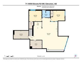 Photo 48: 71 10550 ELLERSLIE Road in Edmonton: Zone 55 Condo for sale : MLS®# E4252526