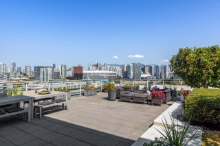 """Photo 4: 1201 1661 ONTARIO Street in Vancouver: False Creek Condo for sale in """"SAILS"""" (Vancouver West)  : MLS®# R2605622"""