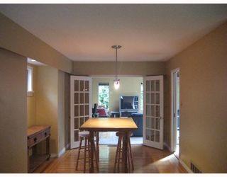 "Photo 5: 2325 WHITMAN Avenue in North_Vancouver: Blueridge NV House for sale in ""BLUERIDGE"" (North Vancouver)  : MLS®# V664643"