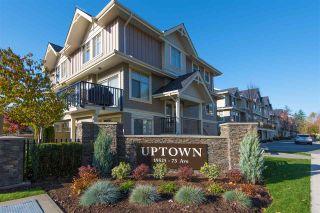 "Photo 1: 117 19525 73 Avenue in Surrey: Clayton Townhouse for sale in ""Uptown Clayton Village"" (Cloverdale)  : MLS®# R2428562"