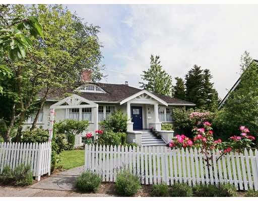 Main Photo: 1149 DEVONSHIRE in Vancouver: Shaughnessy House for sale (Vancouver West)  : MLS®# V752311