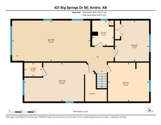 Photo 32: 421 Big Springs Drive SE: Airdrie Detached for sale : MLS®# A1099783